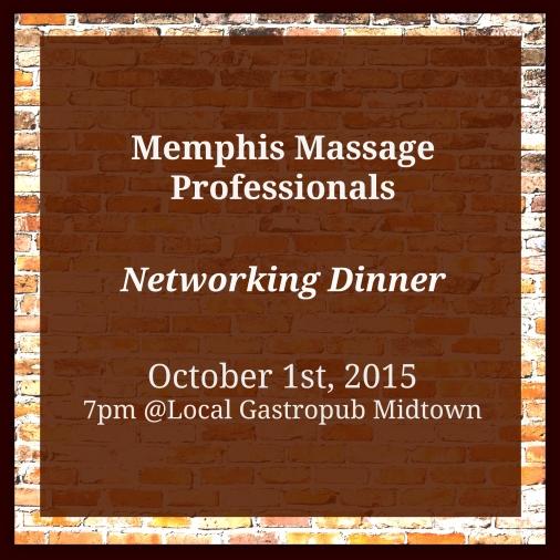 MMP Dinner October
